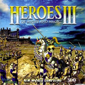 Heroes of Might and Magic III. Лицевая сторона. Click to zoom.