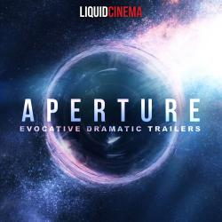 Aperture: Evocative Dramatic Trailers. Передняя обложка. Click to zoom.