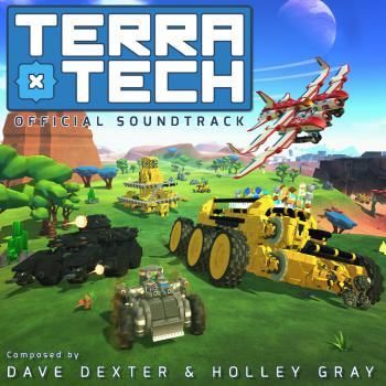 TerraTech Official Soundtrack. Front. Click to zoom.