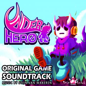 UnderHero Original Game Soundtrack. Front. Click to zoom.