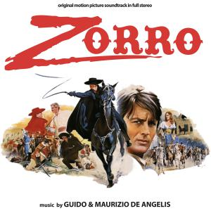 Zorro Original Motion Picture Soundtrack in Full Stereo. Лицевая сторона. Click to zoom.