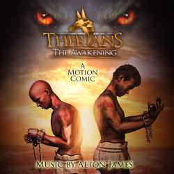 Therians: The Awakening, Vol. 1 Chapter 1  Equi's Revolt Original Motion Comic Soundtrack. Передняя обложка. Click to zoom.
