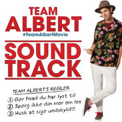 Team Albert Original Motion Picture Soundtrack. Передняя обложка. Click to zoom.