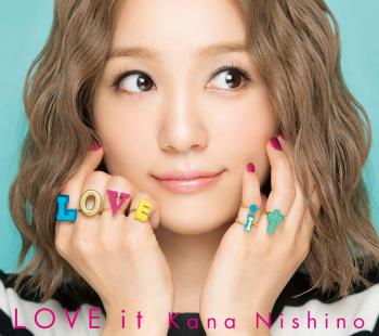 LOVE it / Kana Nishino [Limited Edition]. Front. Click to zoom.
