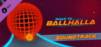 Road to Ballhalla Soundtrack. Front. Click to zoom.