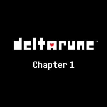 DELTARUNE Chapter 1 OST. Front. Click to zoom.