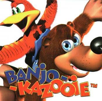 Banjo-Kazooie Game Soundtrack. Front. Click to zoom.