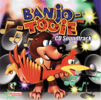 Banjo-Tooie CD Soundtrack. Front. Click to zoom.