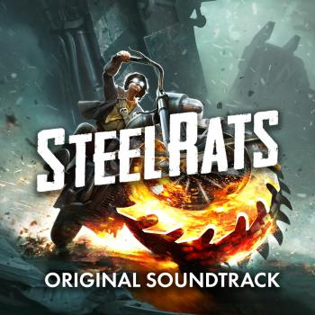 Steel Rats Original Soundtrack. Front. Click to zoom.
