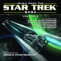 Music from the Star Trek Saga Volume 2. Передняя обложка. Click to zoom.