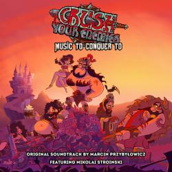 Music to Conquer To Original Game Soundtrack. Передняя обложка. Click to zoom.