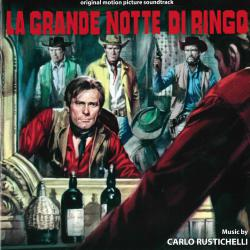 La grande notte di Ringo Original motion picture soundtrack. Передняя обложка. Click to zoom.
