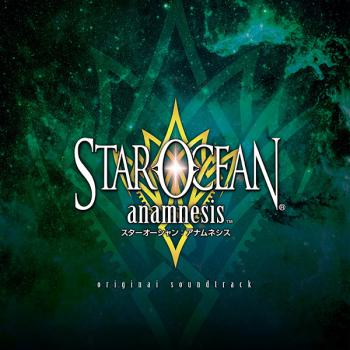 STAR OCEAN:anamnesis original soundtrack. Front. Click to zoom.