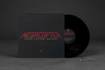 Megacopter Original Video Game Soundtrack. Front. Click to zoom.