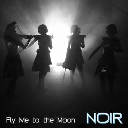 Fly Me To The Moon - Single. Передняя обложка. Click to zoom.