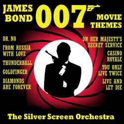 007 James Bond Movie Themes. Передняя обложка. Click to zoom.