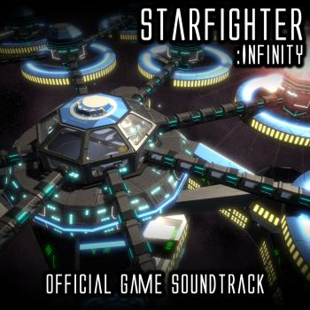 Starfighter: Infinity Official Game Soundtrack. Front. Click to zoom.