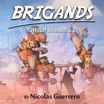 Brigands Official Soundtrack. Front. Click to zoom.