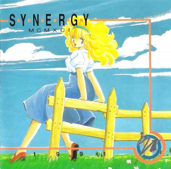 SYNERGY MCMXCI 1991. Front. Click to zoom.