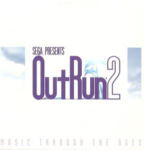SEGA PRESENTS OutRun 2 MUSIC THROUGH THE AGES. Front. Click to zoom.