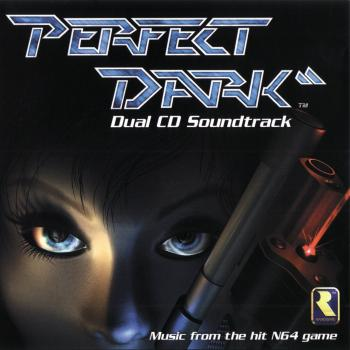Perfect Dark Dual CD Soundtrack. Front. Click to zoom.
