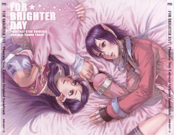For Brighter Day: Phantasy Star Universe Original Soundtrack. Front. Click to zoom.