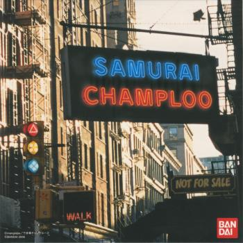 SAMURAI CHAMPLOO Rhythm Track CD. Front. Click to zoom.