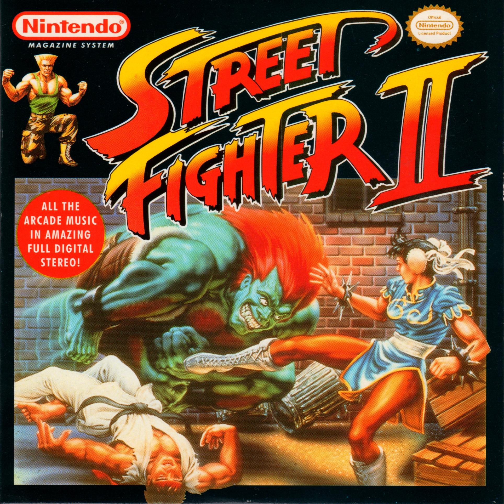 Street Fighter Ii Nintendo Magazine System Promo Muzyka Iz Igry