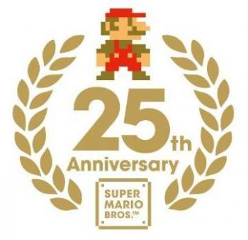 SUPER MARIO HISTORY 1985-2010 Sound Track CD. Booklet Front. Click to zoom.