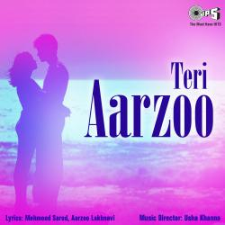 Teri Aarzoo Original Motion Picture Soundtrack - EP. Передняя обложка. Click to zoom.