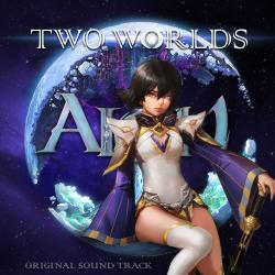 Aion - Two Worlds - Single. Передняя обложка. Click to zoom.