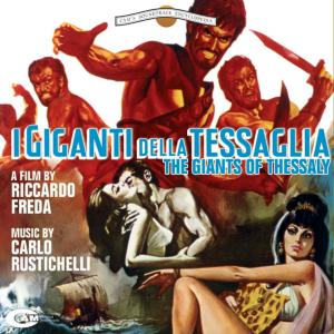 I giganti della tessaglia Original Motion Picture Tracks. Front. Click to zoom.