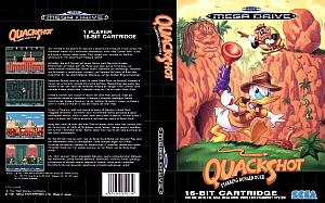 Quackshot Starring Donald Duck. Буклет. Click to zoom.