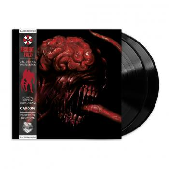Resident Evil 2 (Original Soundtrack). Front mockup. Click to zoom.