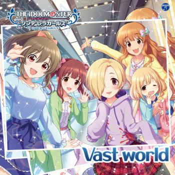 THE IDOLM@STER CINDERELLA GIRLS STARLIGHT MASTER 27 Vast world, The. Front (small). Click to zoom.