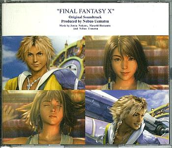 FINAL FANTASY X Original Soundtrack. Case Front. Click to zoom.