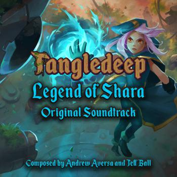 Tangledeep: Legend of Shara Original Soundtrack. Front. Click to zoom.