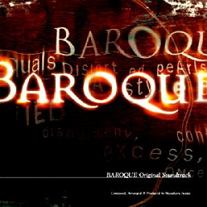 BAROQUE Original Soundtrack. Front. Click to zoom.