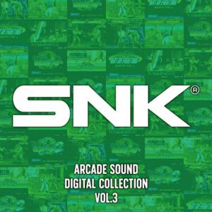 SNK ARCADE SOUND DIGITAL COLLECTION Vol.3. Front (small). Click to zoom.