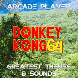 Donkey Kong 64, Greatest Themes & Sounds. Передняя обложка. Click to zoom.