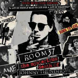 Room 37: The Mysterious Death of Johnny Thunders Original Motion Picture Soundtrack. Передняя обложка. Click to zoom.