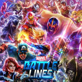 Marvel Battle Lines. Front. Click to zoom.