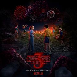 Stranger Things: Soundtrack from the Netflix Original Series, Season 3. Передняя обложка. Click to zoom.