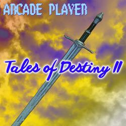 Tales of Destiny II. Передняя обложка. Click to zoom.
