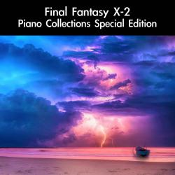 Final Fantasy X-2 Piano Collections Special Edition. Передняя обложка. Click to zoom.