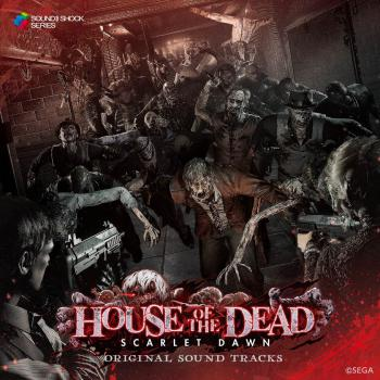 HOUSE OF THE DEAD ~SCARLET DAWN~ ORIGINAL SOUND TRACKS. Front. Click to zoom.