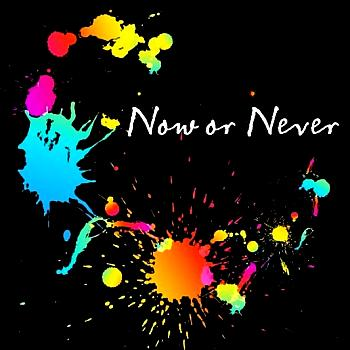 Now or Never / nano. Front (small). Click to zoom.