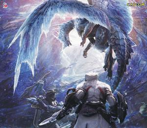 MONSTER HUNTER WORLD: ICEBORNE ORIGINAL SOUNDTRACK. Front (small). Click to zoom.