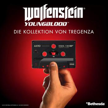 Wolfenstein: Youngblood - Die Kollektion von Tregenza. Front. Click to zoom.