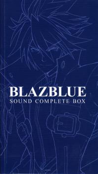 BLAZBLUE SOUND COMPLETE BOX. Booklet Front. Click to zoom.